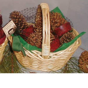Goods of the Woods Cone Starters In Willow Basket