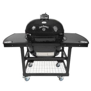 PRIMO OVAL XL 400 JACK DANIELS 2 PC TABLE FRONT VIEW