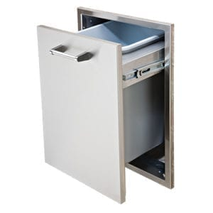 Delta Heat Tall Trash Drawer DHTD18T-B