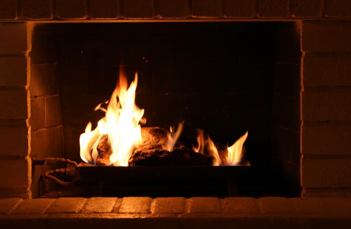 natural propane gas logs