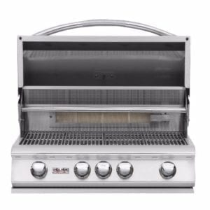"DelSol 32"" Gas Grill with Rotisserie Burner - 4 Burner"