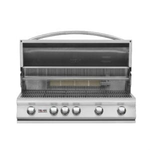 DelSol 40″ Gas Grill with Rotisserie Burner – 5 Burner