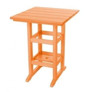 Durawood Counter Height Dining Table Orange