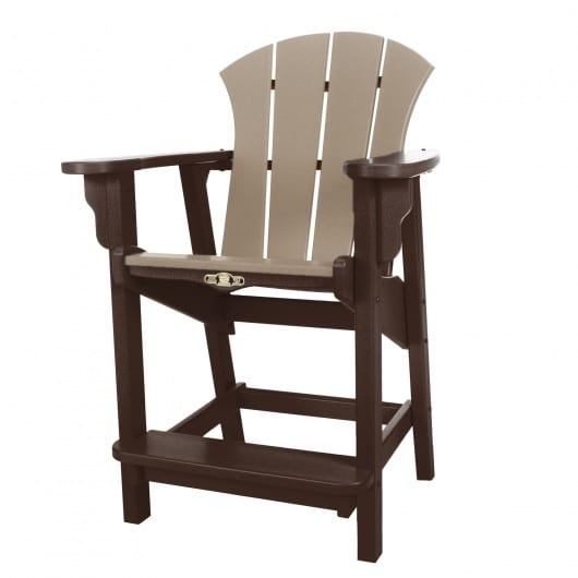 best outdoor furnishing durawood sunrise counter height dining chairs