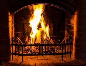 wood burning fireplace greenville sc